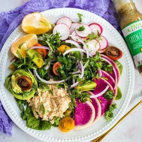 Rainbow Tuna Salad