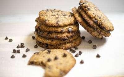 Hazelnut Flour Chocolate Chip Cookie
